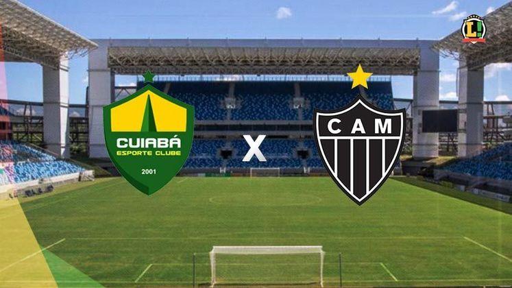 Cuiabá x Atlético-MG - Estádio: Arena Pantanal - Dia 04/07/2021 - Horário: 18h15 - Transmissão: Premiere