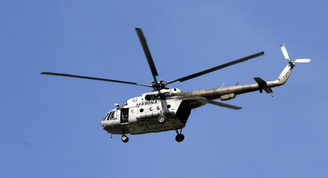 Helicópteros militares foram atacados durante a ação