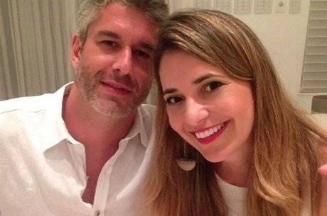 Gustavo Henrique e a esposa Giovana que foi baleada em 2016