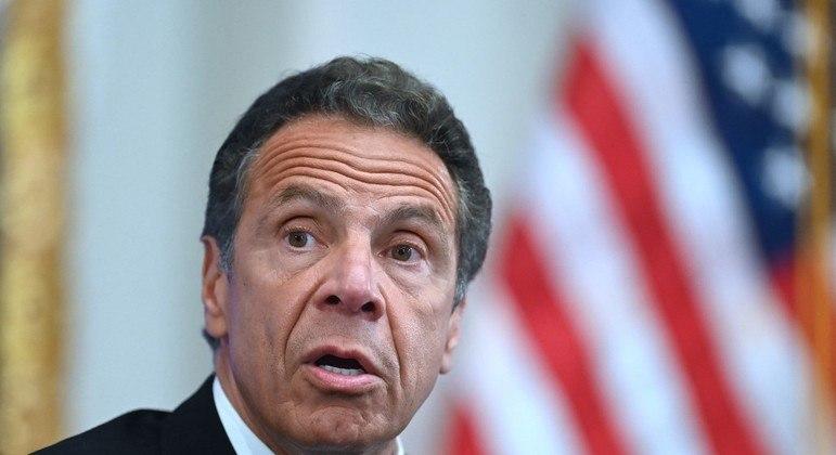 Ex-governador do estado de Nova York, Andrew Cuomo