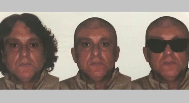 Polícia chegou a divulgar possíveis fisionomias que Cupertino possa ter adotado