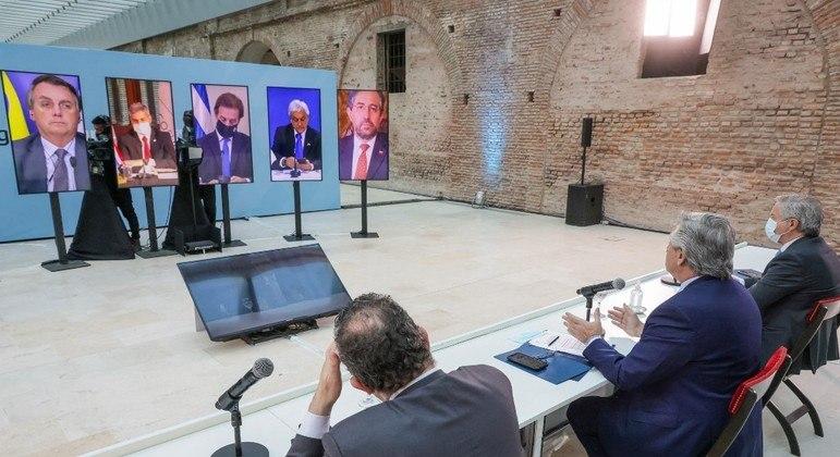 Líderes do Mercosul tiveram mais uma cúpula tensa nesta quinta-feira