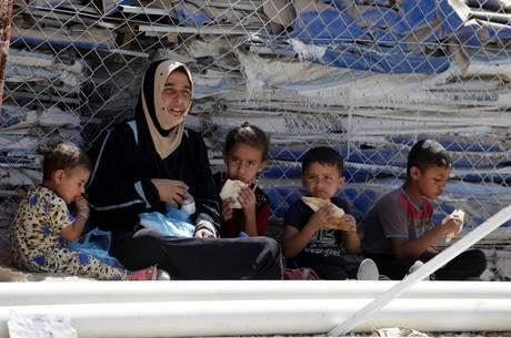 A crianças não tinham direito a advogado, segundo a ONG