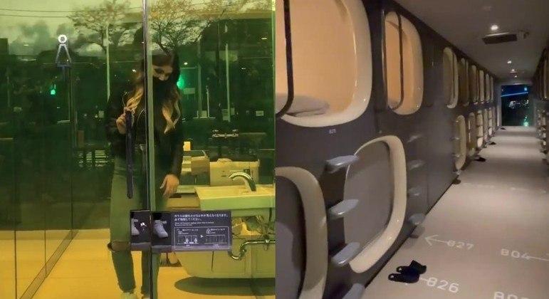 Japão tem banheiro transparente e hotel cápsula