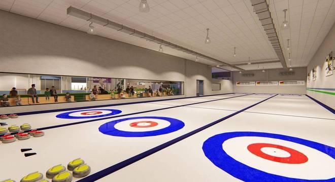 As pistas de Curling