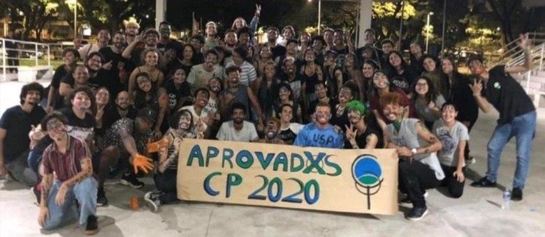 Festa dos alunos aprovados do Cursinho da Poli-Usp de 2019