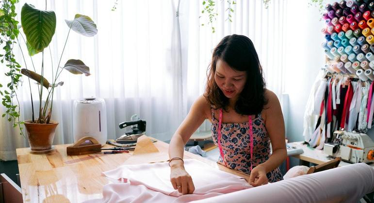 O curso Moda & Costura foi criado em 2017 e já qualificou 660 mulheres da Cidade Tiradentes