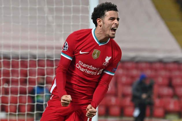 Curtis Jones (20 anos) - Posição: meia - Clube: Liverpool.