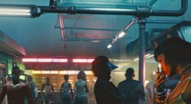 Cyberpunk 2077 vem em dois discos Blu-ray