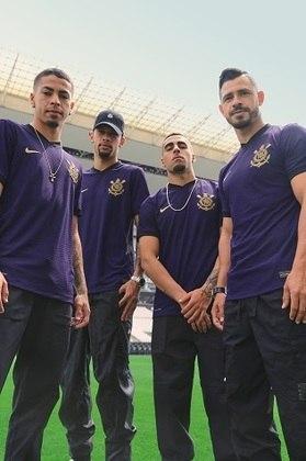 Da equipe masculina, Gabriel Pereira, João Victor, Gabriel e Giuliano foram os que posaram para fotos na Neo Química Arena.