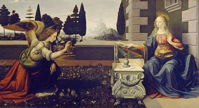 Itália não quer mais ceder à França obras de Da Vinci como 'Anunciação'