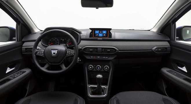 Dacia Sandero tem novo interior inspirado no estilo que já conhecemos no atual Duster