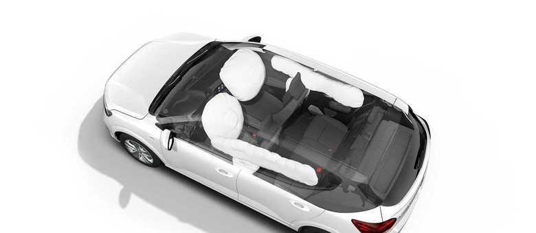 Airbags frontais e laterais são itens de série mas não houve novo teste no NCAP