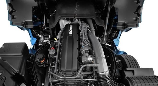 Motor Paccar turbodiesel tem até 530cv, nova turbina e câmbio melhorando a eficiência