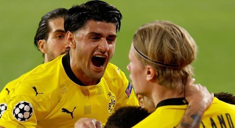 Dahoud e Haaland, do Borussia Dortmund