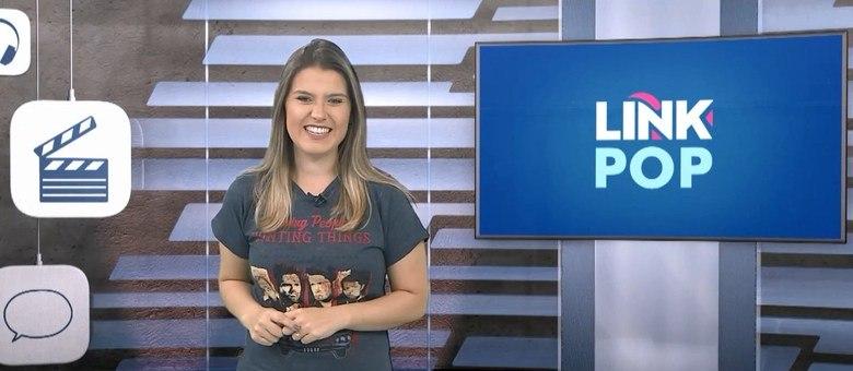 Daiane Bombarda, apresentadora do Link Pop. Todos os sábados, às 23h30.