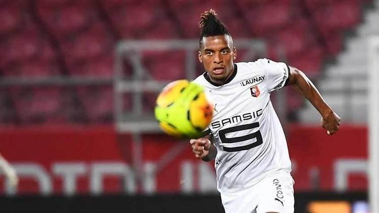 Dalbert - Lateral-esquerdo - Emprestado pela Inter de Milão ao Rennes, o brasileiro está com dificuldades em emendar uma boa sequência e seria um bom negócio para equipes brasileiras. Ele começou apenas 10% dos jogos como titular na França.