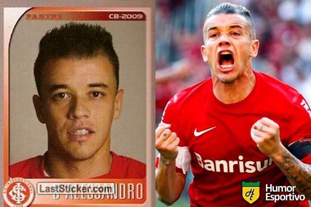D'Alessandro jogou pelo Internacional em 2009. Inicia o Brasileirão 2020 com 39 anos e jogando novamente pelo Colorado