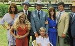 Dallas - 14 temporadasCom estreia em 1978, a série durou até 1991, com 14 temporadas e mais de 350 episódios exibidos