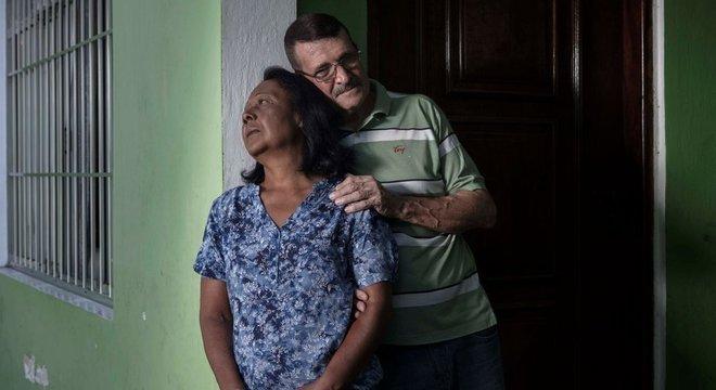 Dalva e Carlos Campioto esperam há dez anos por uma informação sobre o filho, Leonardo de Souza Campioto, que desapareceu quando tinha 27 anos. Sistemas não são interligados, dificultando a busca