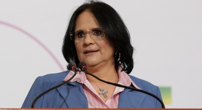 Ministra da Mulher, da Família e dos Direitos Humanos, Damares Alves,