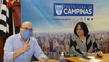 Após caso do menino torturado, Damares Alves visita prefeito
