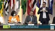 Bolsonaro assina decreto para combater violência contra crianças