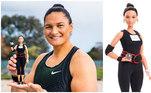Dame Valerie Adams é uma atleta do arremesso de peso neozelandesa