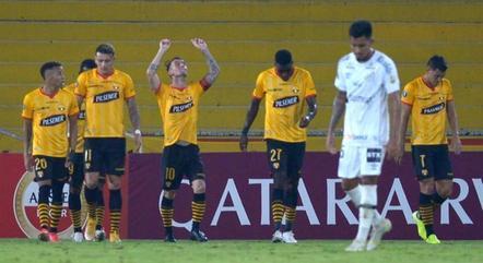 Santos fez campanha bastante ruim na Libertadores