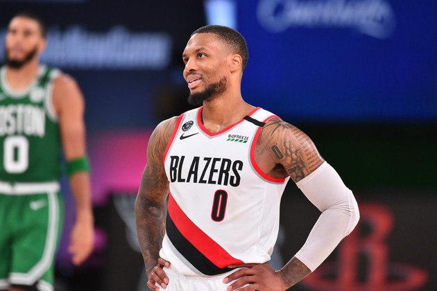 Damian Lillard (Portland Trail Blazers) fazia um jogo apenas regular quando sua equipe voltou para a partida. Até o intervalo, o Boston Celtics dominava e o Blazers não apresentava reação. Jusuf Nurkic iniciou e Lillard conseguiu a virada para o time de Portland. Entretanto, os 30 pontos e 16 assistências não foram suficientes