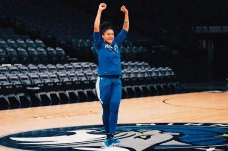 Jogadora disputou a quinta temporada no WBNA