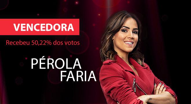 Pérola Faria é a grande vencedora do Dancing Brasil 4