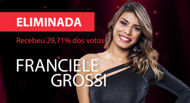 Franciele Grossi se despede do Dancing Brasil