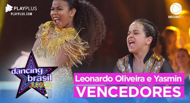 Leonardo Oliveira e Yasmim encantaram os jurados e a plateia