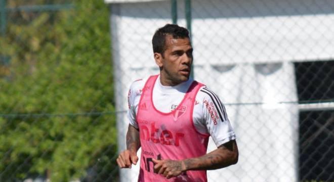 Daniel Alves ainda busca o seu primeiro título pelo São Paulo
