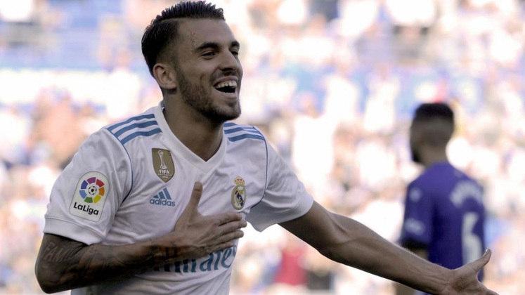 Dani Ceballos - Clube: Real Madrid - Seleção: Espanha - Posição: Meia - Idade: 24 anos - Valor segundo o Transfermarkt: 27 milhões de euros (aproximadamente R$ 163,22 milhões)