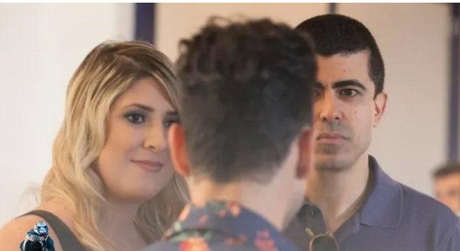 Dani e Melhem trabalharam juntos no Zorra