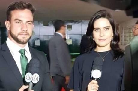 Daniel Adjuto e Débora Bergamasco já trabalharam juntos no SBT