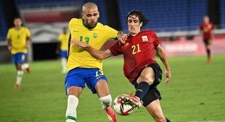 Brasil venceu com méritos a Espanha