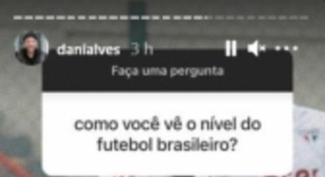 Daniel Alves - Instagram