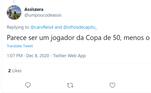 Daniel Alves vira estátua e é zoado nas redes sociais