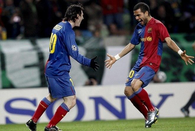 O primeiro título de expressão da dupla pelo Barcelona viria em 2009, na conquista da terceira Liga dos Campeões da história do clube catalão