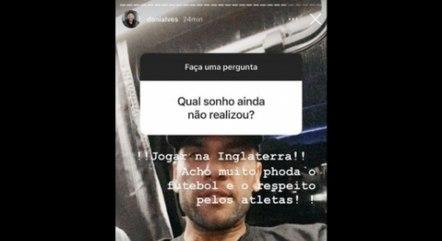 Daniel Alves sonha em jogar na Inglaterra