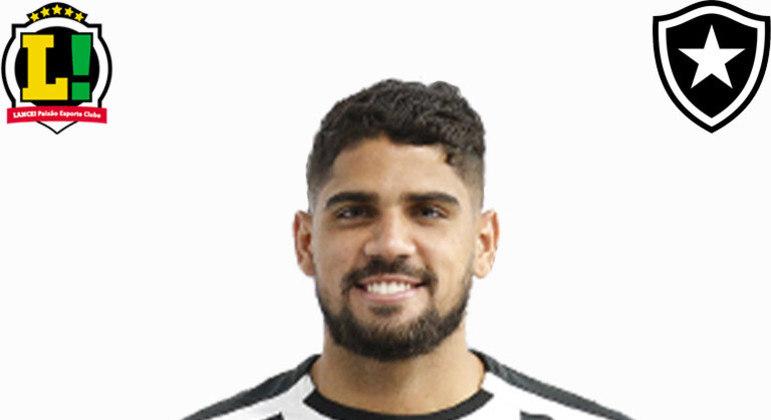 Daniel Borges: 5,5 - Outro estreante da noite, o lateral participou pouco no jogo, mas iniciou uma jogada que originou uma falta perigosa cobrada por Pedro Castro.