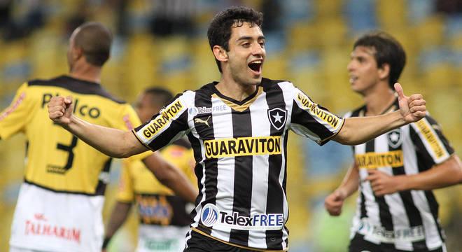 Daniel, assassinado no último sábado, na época em que jogava no Botafogo