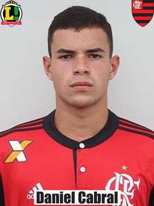 Daniel Cabral - Sem nota - Entrou no fim da partida no lugar de João Gomes.