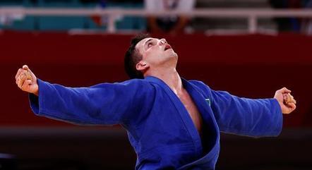 Cargnin comemora vitória na Olimpíada