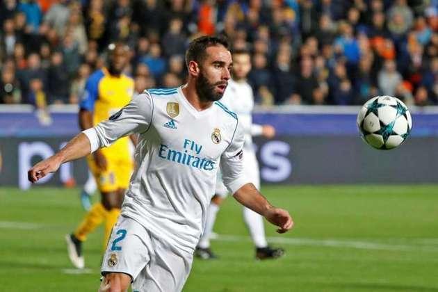 Daniel Carvajal - 29 anos - Lateral-direito - Clube: Real Madrid - Contrato até: 30/06/2022