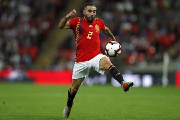 Daniel Carvajal (Espanha) - fora por opção do treinador