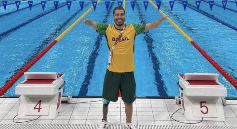 Daniel Dias anunciou que fará sua despedida das piscinas nas Paralimpíadas de Tóquio